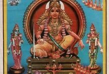INDIAN GODS ARTWORK / A Collection of inspirationally Colourful artworks of Indian gods .