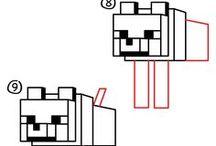 minecraft çizimler