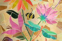 Artes manuales mosaicos y decoupage