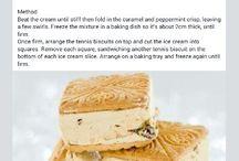 Fridge & ice-cream tarts