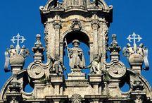 Vaeltaminen / Tavoitteena Santiago de Compostelan vaellus. Sitä osdotellessa.