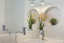 banheiro perfeito pia nichos