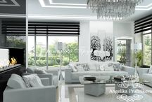 Дизайн проект интерьера загородного коттеджа в стиле минимализм в Барвихе / Минимализм один из распространённых направлений, который делает коттедж не только удобным, но и невероятно стильным. В дизайне оформления основными цветами являются черный и белый.  В коттедже в Барвихе белый цвет главенствует. Помещения в доме выглядят более просторными. Большие панорамные окна увеличивают естественный свет во всех комнатах.
