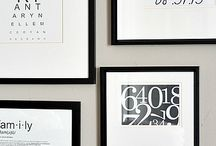 Black and White Wall Art / Artwork, photography, diy wall art, all in classic black and white