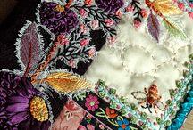 Art Journals-Fabric / by Valya