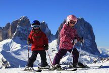 Best Family Ski Destinations / Kids experiences on the snow, the best places for winter holidays.