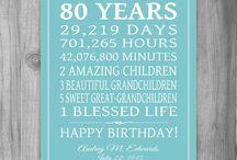 88th birthday ideas