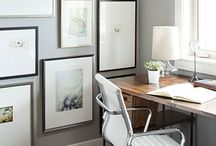 Gallery walls / Inspiration for displaying photos and art