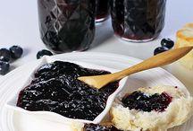 Blue berry jam