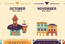 Calendar / by Winnie Win