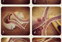 Baseball Crafts / Feeling crafty? Put a baseball twist on it! #baseball #crafts #DIY #getgrizzlie