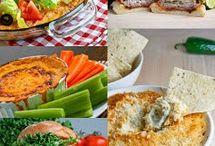 Food Ideas-appetizers/snacks