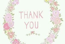 THANKYOU & WELCOME