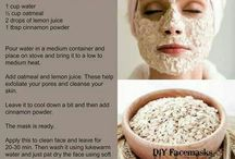 Acne fading face masks