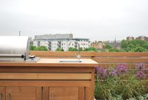 Project Searles Road / CONTEMPORARY ROOF TERRACE & BALCONY, LONDON   Working with the clients wishes, Aralia designed a contemporary and cosmopolitan roof terrace that sits comfortably in the unique and quirky context of its historic school building.  Aralia provided a full Design & Build service for this landscape project, liaising with a Structural Engineer to take the project from concept through to full implementation of the whole masterplan.   Photos: Copyright Aralia 2016