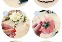 flower making / by DEE DEE