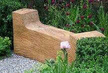 Mobilier de gradina / Outdoor furniture. Garden furniture design ideas.