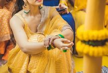 haldi dress