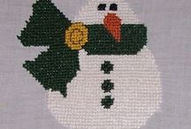 Counted Cross Stitch - Christmas & Winter / by Dawn Ferrante