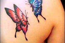 farfalle tatuaggio