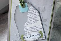 Karten Konfirmation/ Kommunion/ Taufe
