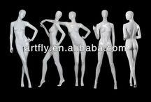 plastic manequins