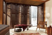 NewStyle®Hybrid Shutters / NewStyle™ hybrid shutters are plantation-style shutters that blend the beauty of real wood and modern materials to create an absolutely stunning look at the window.