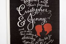 weddings // stationery