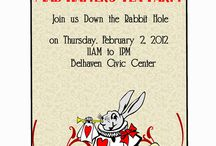 Mad hatter high tea party