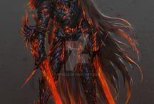 Knights of light and dark