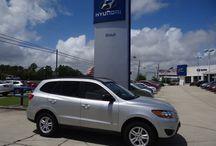 SOLD !! 2011 Hyundai Santa Fe $17,127 Stock #10491 / Year:2011 Make:Hyundai Model:Santa Fe Series:GLS Body:4 Dr SUV Engine:2.4L 4Cyl Transmission:Automatic Miles:51,014 Price:$17,127