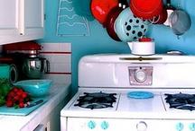 Fun, Retro, Chic, Vintage Rooms