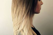 blonde with low highlights