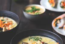 Schnelle vegetarische Rezepte / Schnelle, einfache Feierabendküche - alle Gerichte sind in unter 30 Minuten zubereitet, sind vegetarisch oder vegan und natürlich superlecker.