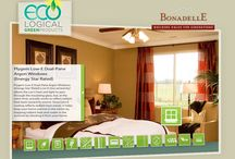 Eco-Logically Equipped Homes / Bonadelle Neighborhoods Communities are filled with homes that have numerous eco-friendly features. If you're moving to the area, it's worth taking a look at why adding eco-logical features makes sense.