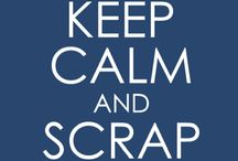 "Scrap Away in Doubles / "" Been there, done that, scrapped a page about it. ""  / by J H"