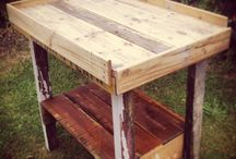 Pallet Furniture / Pallet furniture ideas