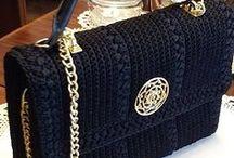 tutoria cartera negra crochet