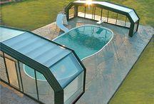 pool enclosure-medence fedés