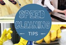 Cleaning tips, tricks and hints / Cleaning hints and tips for around the house. Get organised and keep it clean. Home cleaning, housekeeping, cleaning routines and more.