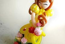 куклы из шаров