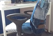 Jeans project chaircover