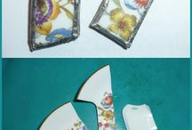 Jewelry - Broken China