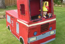 Fire engine party ideas