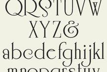Alfabeto Serif
