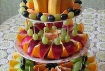 Decorative fruit presentations / Fruit