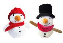 Snowman / Love for spotlighting a sweet and kawaii snowman!