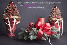 Oferta świateczna - bożonarodzeniowa z cennikiem 2014 / ceny dekoracji świątecznych 2014