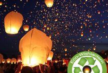 Wish Lantern Ceremony