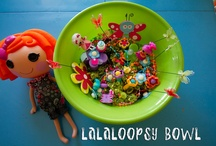 Crafts & Games For Girls / Let's Play! Sew fun Lalaloopsy crafting & playing ideas.
